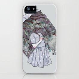 Black Cloud iPhone Case