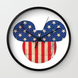 M Mouse Wall Clock