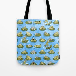 Froggy Fun Tote Bag