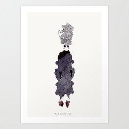 Bad Scare Day Art Print