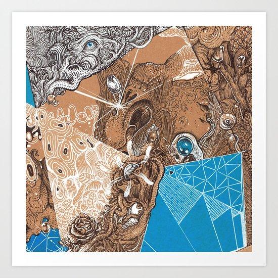 Land subconscious Art Print