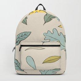 Tea Leaves Hand Drawn Backpack