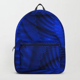 Multi-spiral azure Backpack