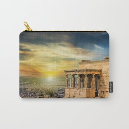 The Caryatids of Acropolis in Athens, Greece Carry-All Pouch