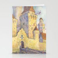 castle Stationery Cards featuring Castle by Kasheva