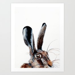 HELLO I HARE YOU! Art Print