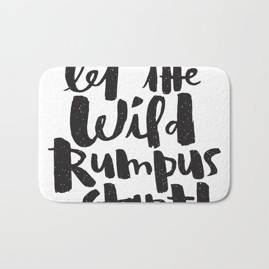 WILD RUMPUS Bath Mat