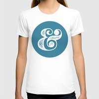 ampersand T-shirts featuring Ampersand by AndyGD