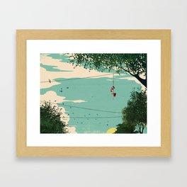 Michael Jordan ESPN Feature 3 Framed Art Print