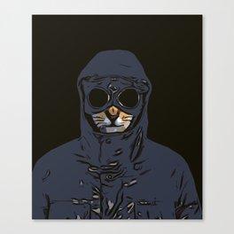 Schmitty the Kitty Hooligan Canvas Print