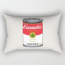 Campbell's Soup (Cannabis Indica) Rectangular Pillow