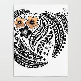 Polynesian Tribal Poster