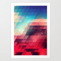skylyyn crysh tyst Art Print