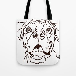 The Boxer Dog Love of my Life Tote Bag