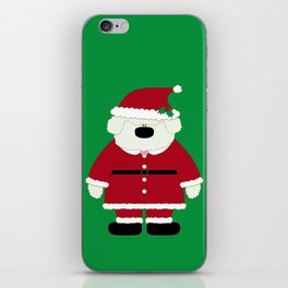 Doggy Santa iPhone Skin