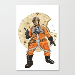 Red Six Saves the Galaxy Canvas Print