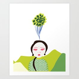 Centered Art Print