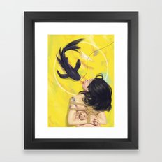 The Bait Framed Art Print