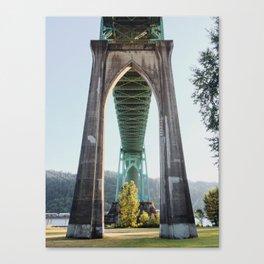 St John's Bridge Canvas Print