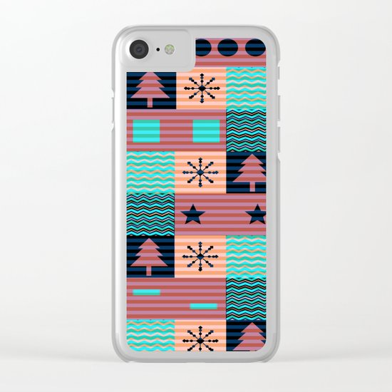 Christmas decoration II Clear iPhone Case