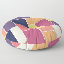 Perplexed Composition Floor Pillow
