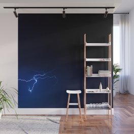 Lightning pattern Wall Mural
