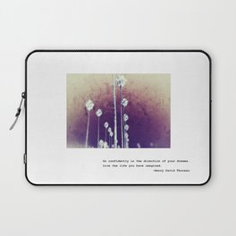 Go confidently #3 Laptop Sleeve