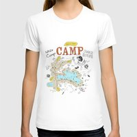 camp T-shirts featuring camp by AJE Custom Shop
