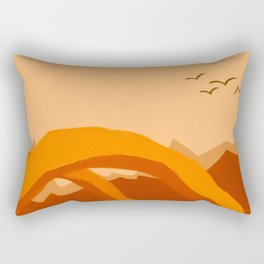 Minimalist Arches Rectangular Pillow