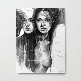 Self-hatred Metal Print