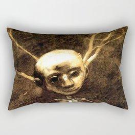 """Odilon Redon """"Spirit of the forest"""" Rectangular Pillow"""