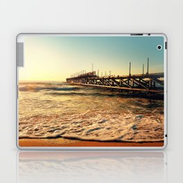 old pier Laptop & iPad Skin