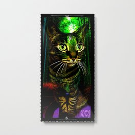 Cat Models: Chazzie Metal Print