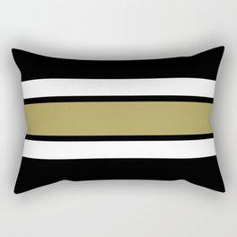 TEAM COLORS 2....Gold Rectangular Pillow