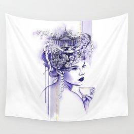 Miss Saint Petersburg Wall Tapestry