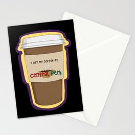 CENTRAL PERK Stationery Cards