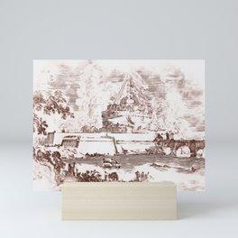 Rome, Mausoleum of Hadrian Mini Art Print
