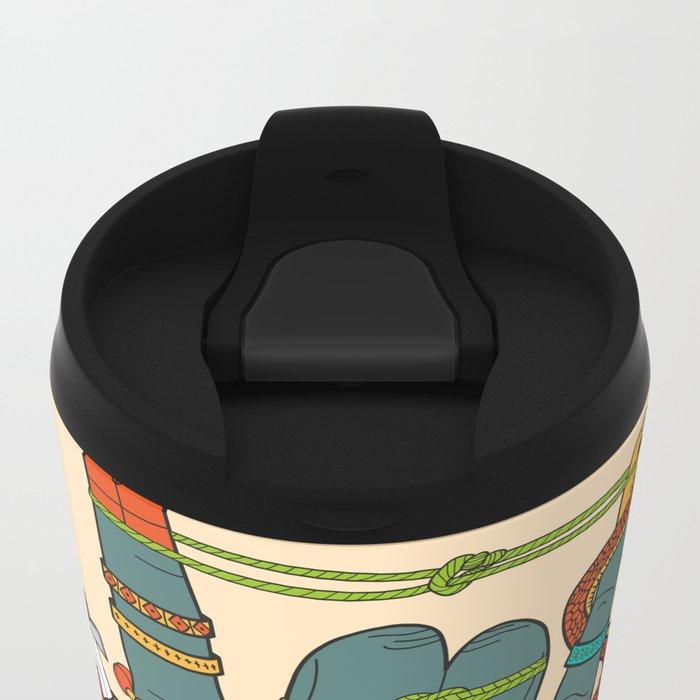 Evil Hand Metal Travel Mug