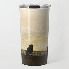 Four Blackbirds Travel Mug