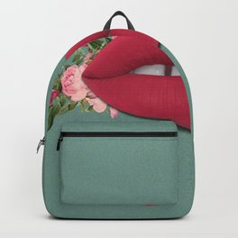 Lips n' Roses Backpack