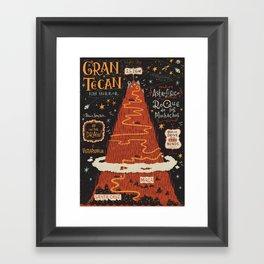 #onthedraw in La Palma - Gran TeCan Framed Art Print