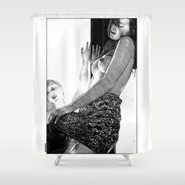 asc 897 - La troisième femme (Let the right one in) Shower Curtain