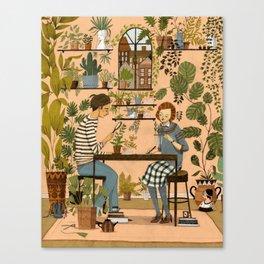 The Botanists Canvas Print