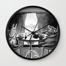 CATS vs DOGS #2 Wall Clock