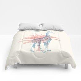 Giraffe - Where they Belong Comforters