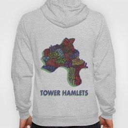 Tower Hamlets - London Borough - Colour Hoody