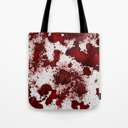 Blood Stains Tote Bag