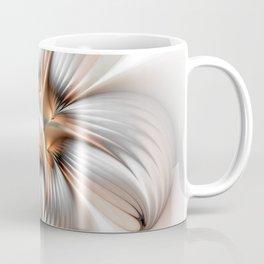 Elegance of a Flower, modern Fractal Art Coffee Mug
