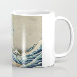 Ukiyo-e, Under the Wave off Kanagawa, Katsushika Hokusai Coffee Mug