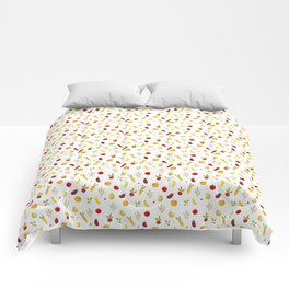 vegetable pattern Comforters